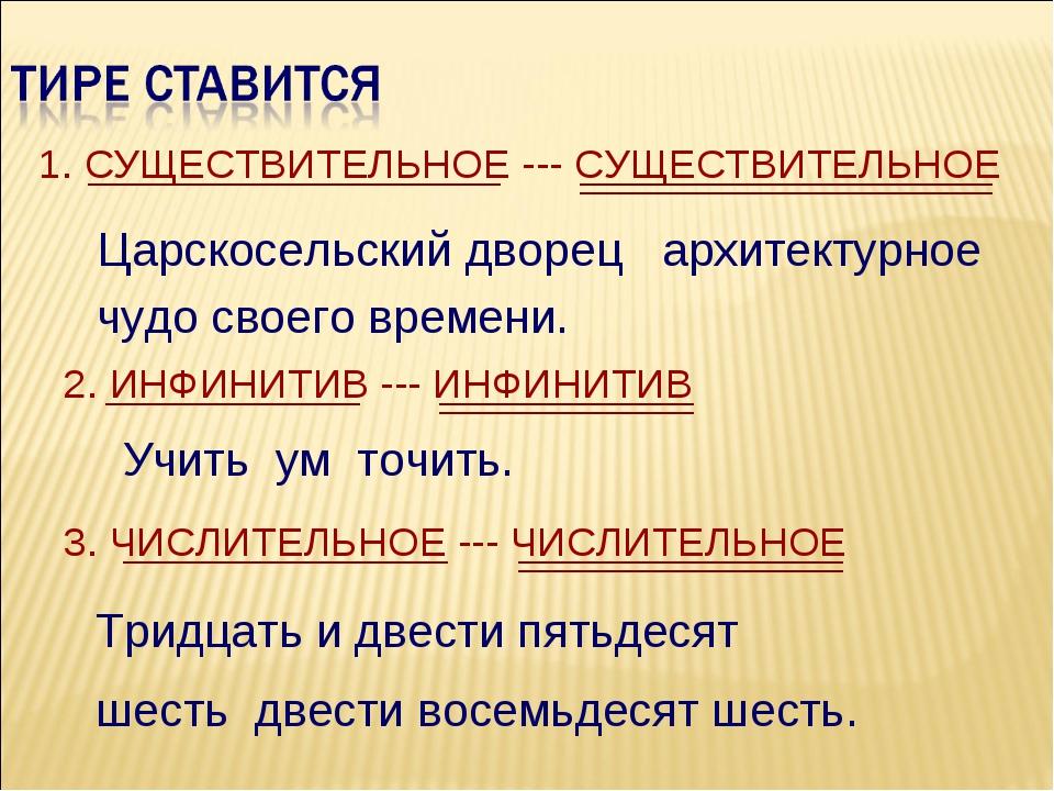 1. СУЩЕСТВИТЕЛЬНОЕ --- СУЩЕСТВИТЕЛЬНОЕ Царскосельский дворец архитектурное чу...
