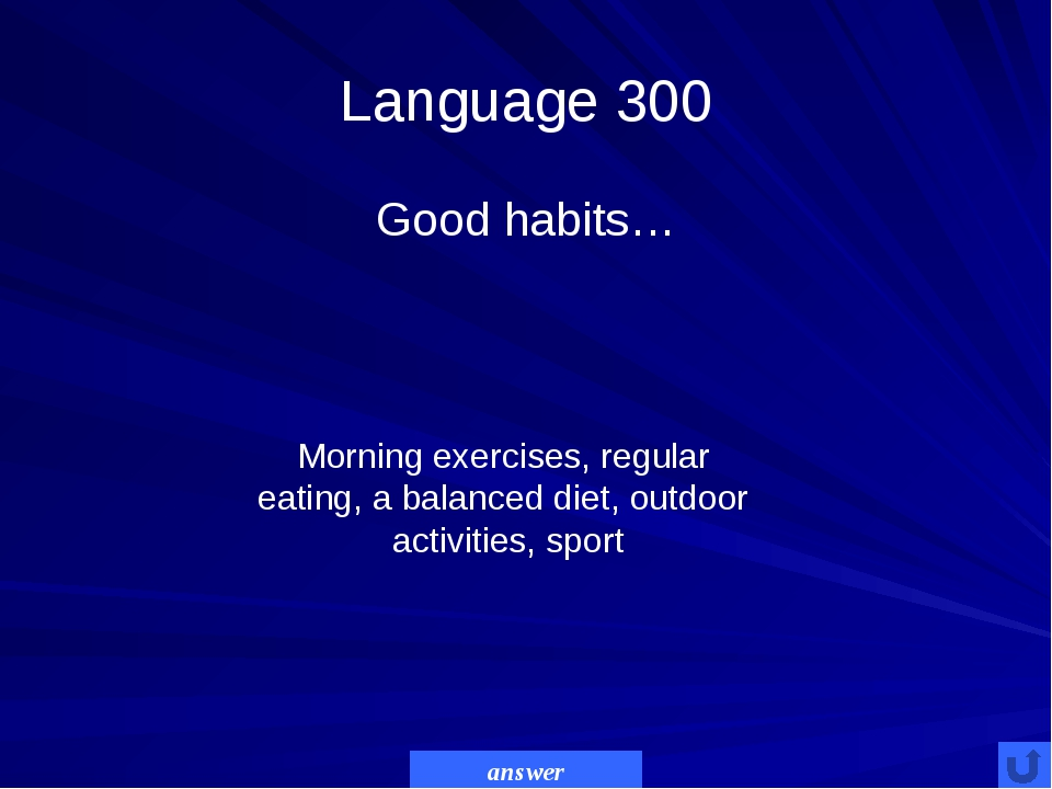Language 400 people should….the amount of salt, sugar &spices. - cut down - t...