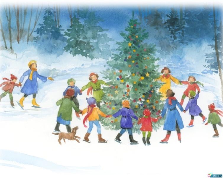 Конспект рисования в 4 классе тема новый год