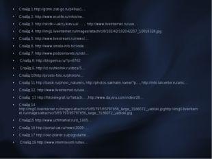 Слайд 1.http://gcmk.zlat-go.ru/p48aa1.… Слайд 2. http://www.ecolife.ru/infos/