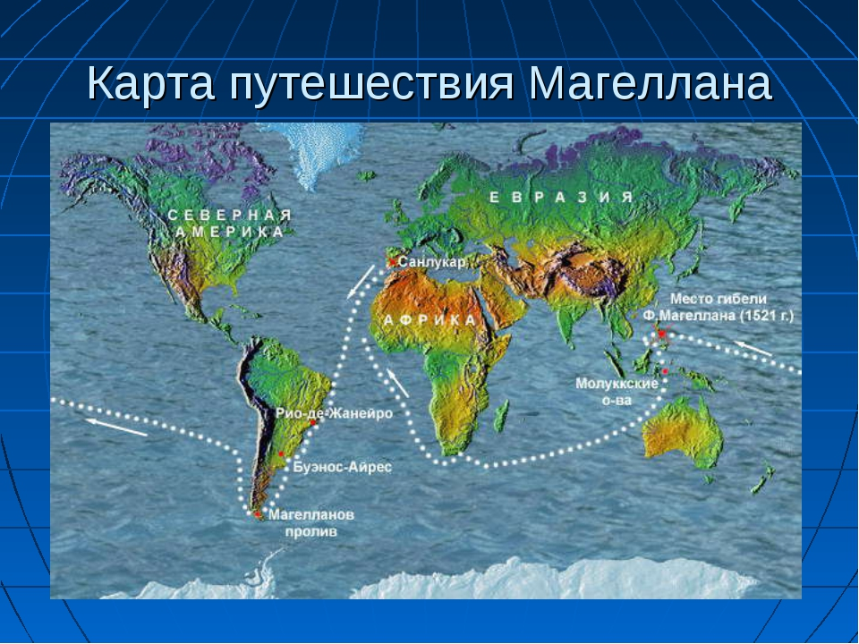 Как сделать кругосветное путешествие