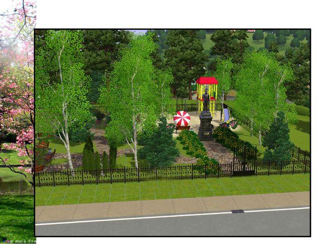 Мы очень хотим, что бы в нашем п. Изоплит был такой чудесный парк.
