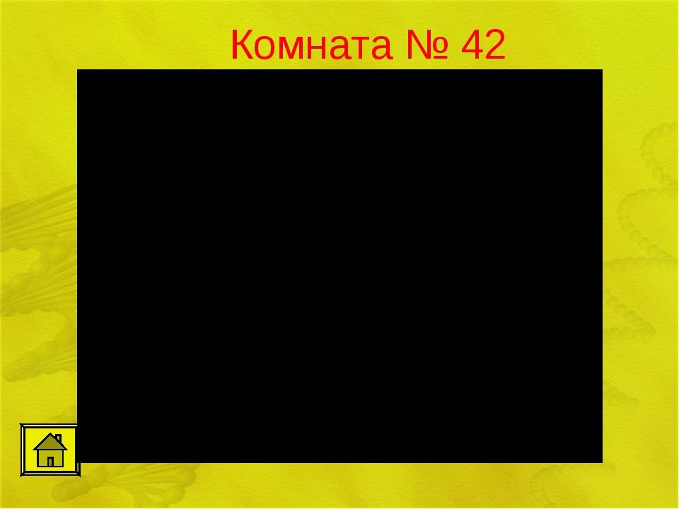Комната № 42