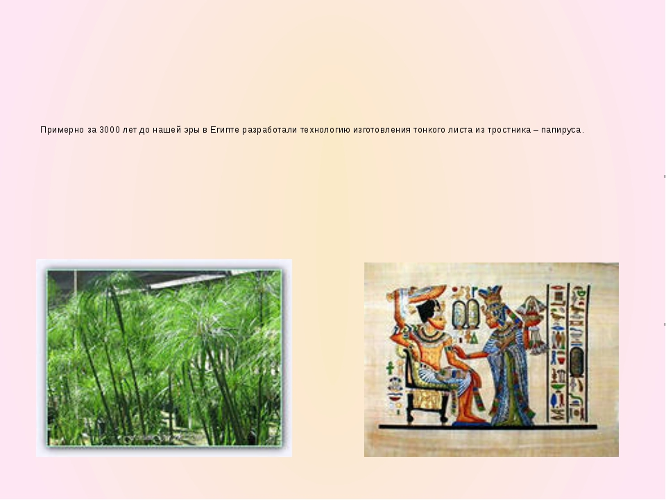 Многие века письменные документы составлялись на пергаментных свитках. Пергам...