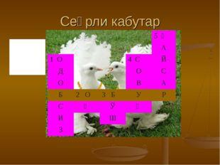 Сеҳрли кабутар 1-одобли 2-қора 3-шўх 4-иссиқ 5-ювош 5 Қ А 1 О4 СЙ