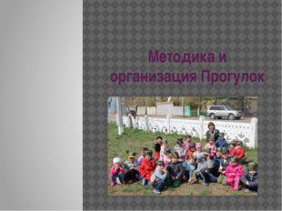Методика и организация Прогулок