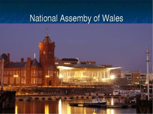 National Assemby of Wales