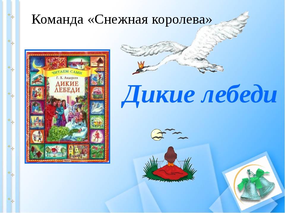 Дикие лебеди Команда «Снежная королева»