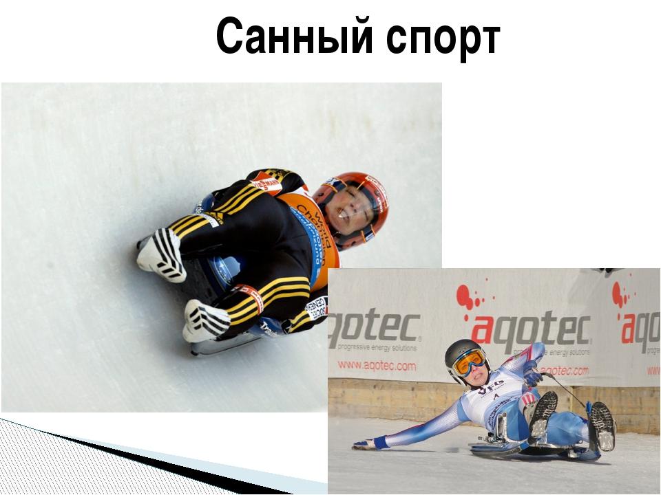 Санный спорт