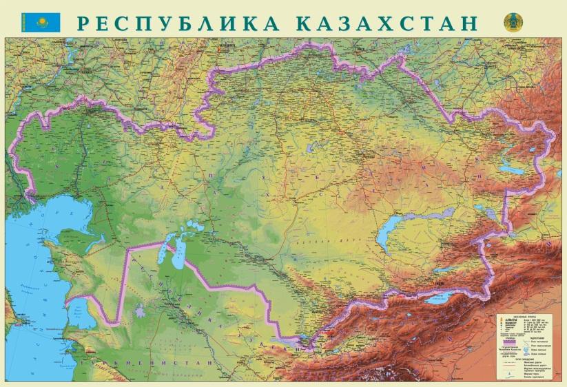 F:\Новая папка\Kazahstan-fizicheskaya-karta[1].jpg