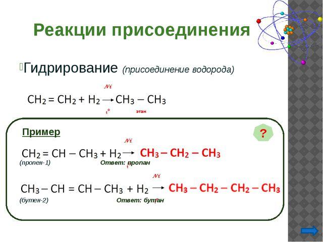 Выбрать правильные ответы: Взаимодействие углеводорода с кислородом – это про...