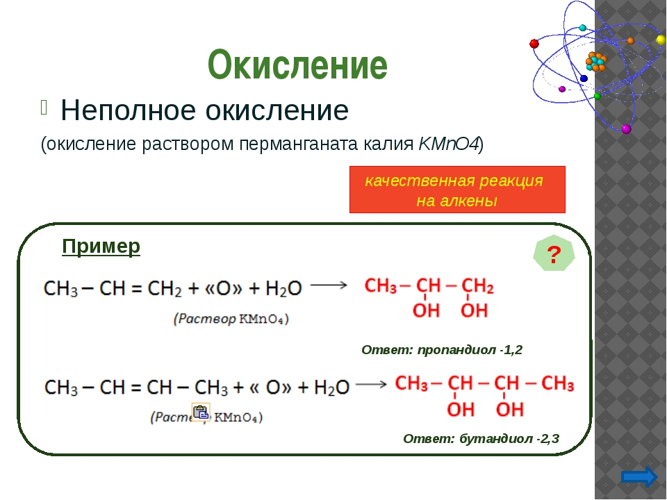 3-метилпентен-2 СН3 –СH =С–СН2– СН3 | СН3 5-бутил-6-пропилоктен-5 2,3,4- три...