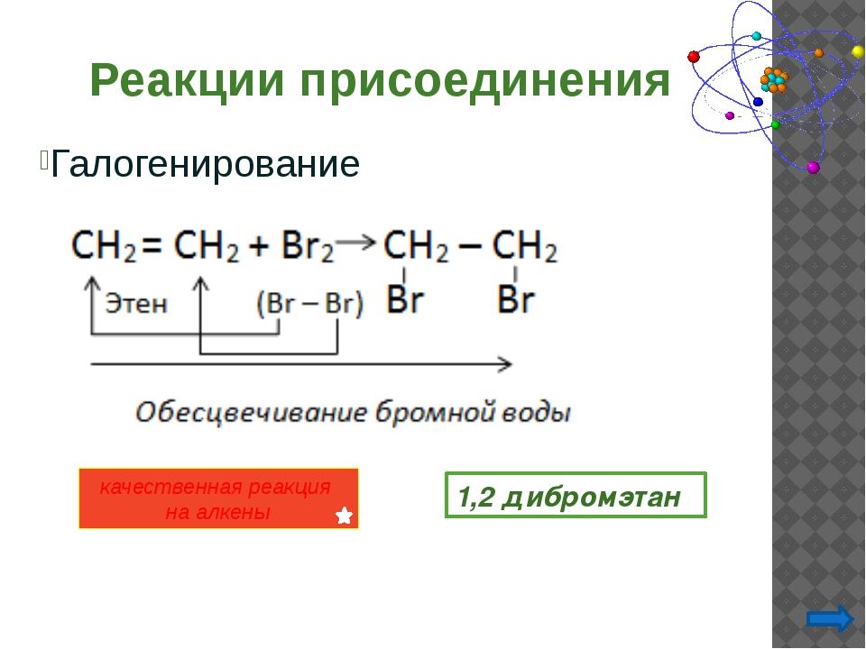 Присоединение галогеноводородов к пропилену и другим несимметричным алкенам...