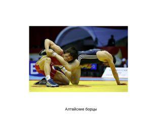 Алтайские борцы