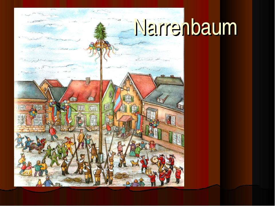 Narrenbaum