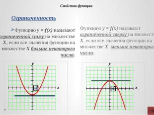 Опишите свойства функций: у= kx + m – линейная функция у = kx2 – квадратичная