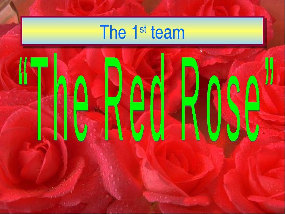 The 1st team