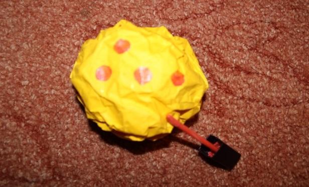 Мячики для метания своими руками 13