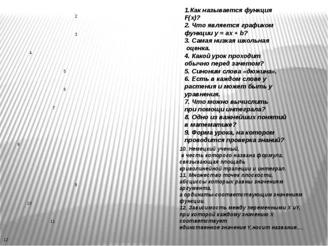 10. Немецкий ученый, в честь которого названа формула, связывающая площадь к...