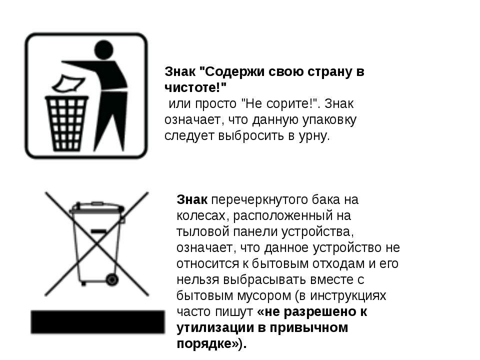 """Знак """"Содержи свою страну в чистоте!"""" или просто """"Не сорите!"""". Знак означает,..."""