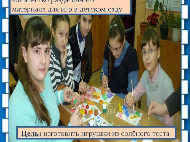Проект «Наши младшие друзья» Проблема: недостаточное количество раздаточного...