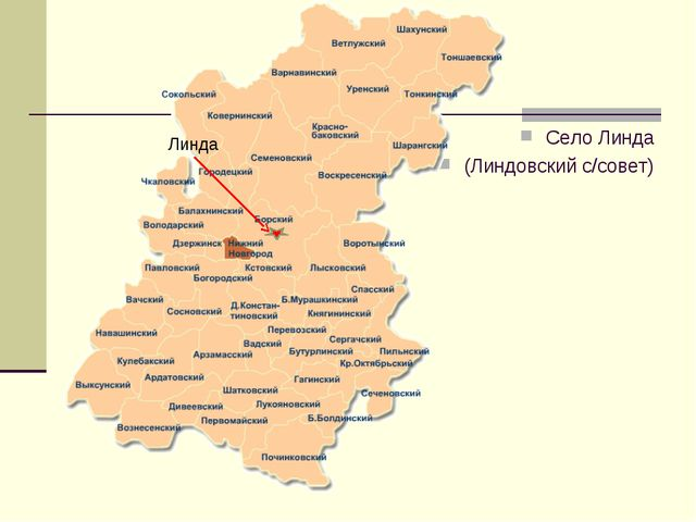 Село Линда (Линдовский с/совет) Линда