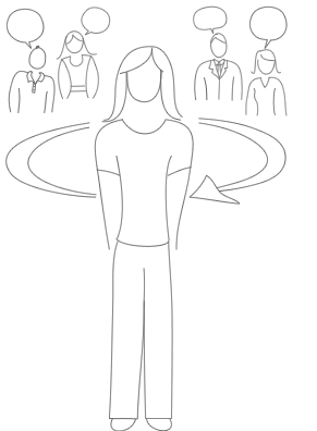 Опросы сотрудников, иллюстрация
