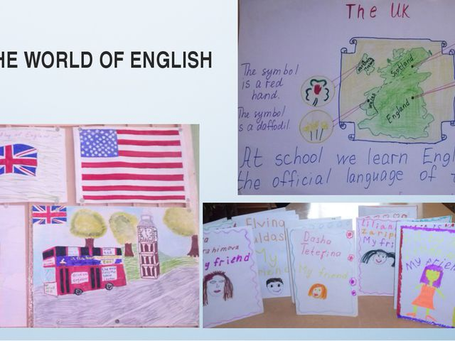 IN THE WORLD OF ENGLISH