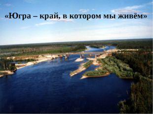 «Югра – край, в котором мы живём»