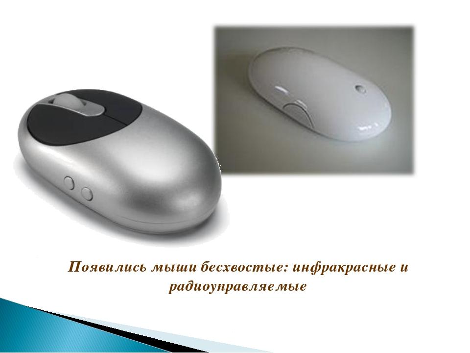 Появились мыши бесхвостые: инфракрасные и радиоуправляемые