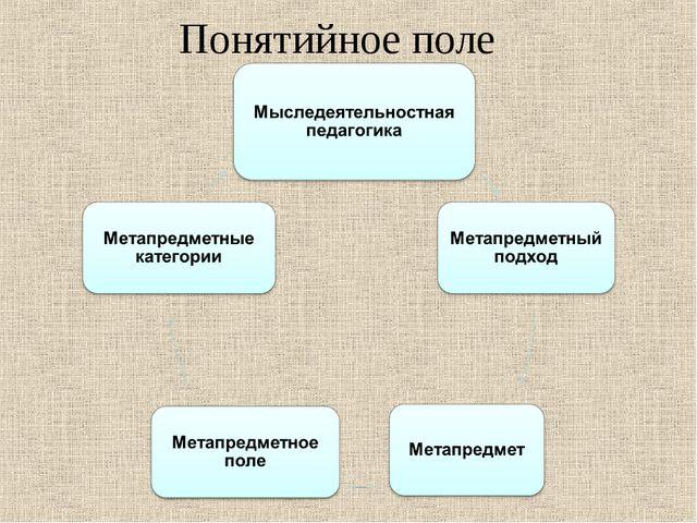 Понятийное поле