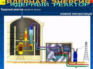 Ядерный реактор является частью атомной электростанции