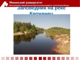 Заповедник на реке Керженец