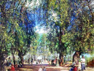 Исаак Бродский Алея в парке