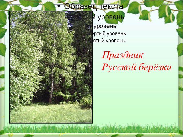 Праздник Русской берёзки