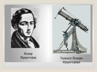 Йозеф Фраунгофер Телескоп Йозефа Фраунгофера