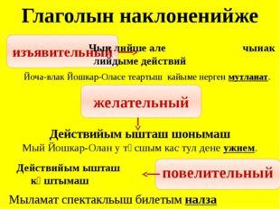 Тӱрлӧ суффикс полшымо дене глагол-влакым ыштыза -аҥ- -г- (-к-) -тар- (-дар-)