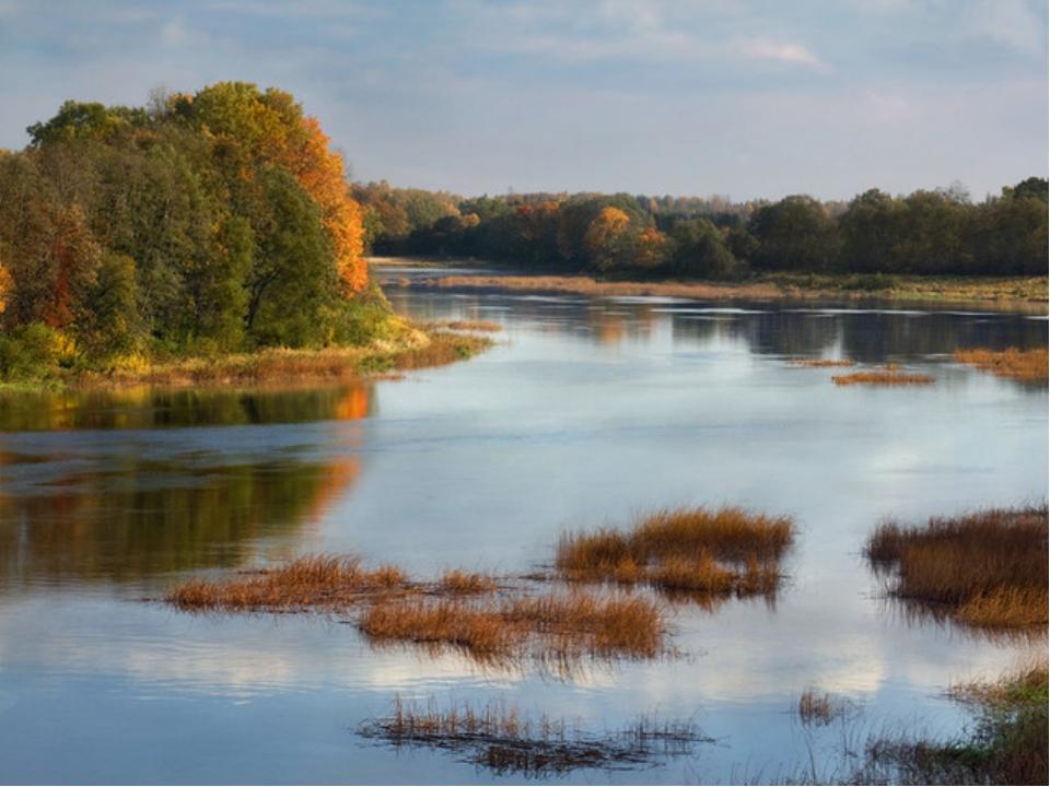 Внутренние воды. Много рек – они полноводны, но не судоходны.