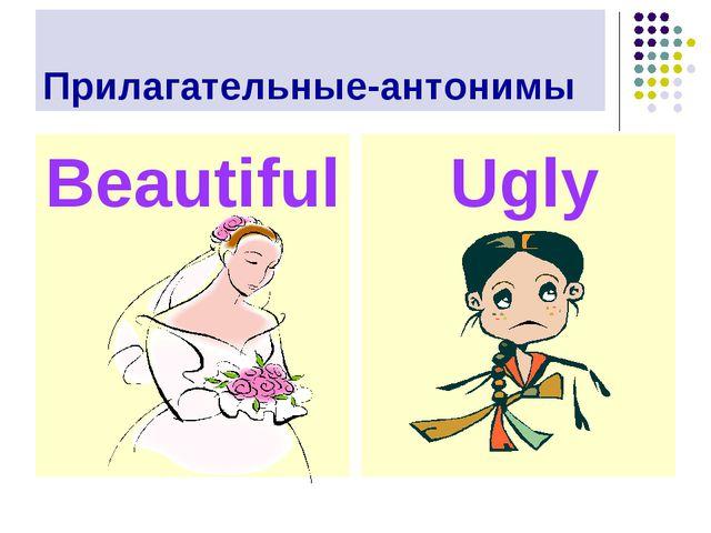 Прилагательные-антонимы Beautiful Ugly