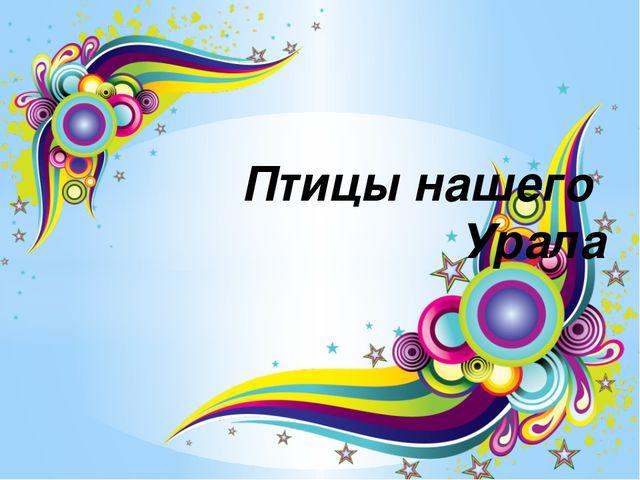 Птицы нашего Урала