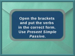 Open the brackets and put the verbs in the correct form. Use Present Simple