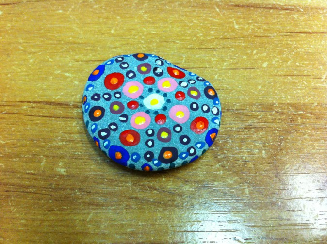«Рисование на камнях». (Мандала) Мастер-класс