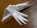 Делаем лебедя оригами-13