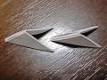 Делаем лебедя оригами-24