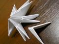 Делаем лебедя оригами-12