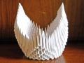 Делаем лебедя оригами-23