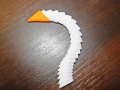 Делаем лебедя оригами-26
