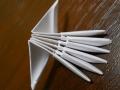 Делаем лебедя оригами-14