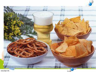 Чтобы подтвердить свою гипотезу, что чипсы и сухарики вредят нашему здоровью