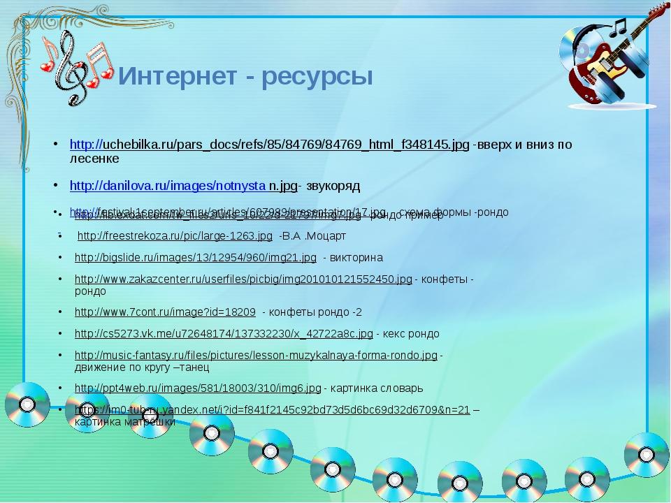 Интернет - ресурсы http://uchebilka.ru/pars_docs/refs/85/84769/84769_html_f3...